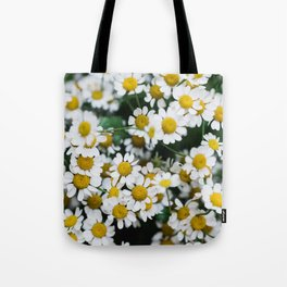 Camomile Wild Flowers Tote Bag