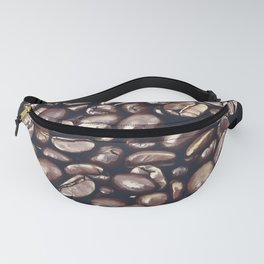 roasted coffee beans texture acrfn Fanny Pack
