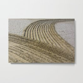 TRACES ON THE SAND Metal Print