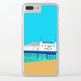Brighton Pier Clear iPhone Case