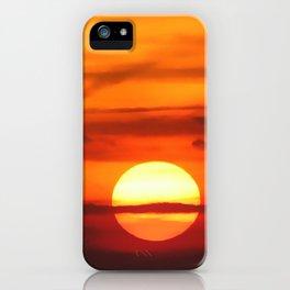 Sunset at Devil's Dyke (UK) iPhone Case