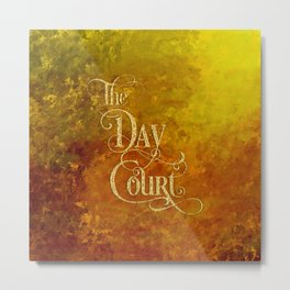 The Day Court Metal Print