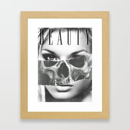 beauty inside 2 Framed Art Print