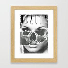 beauty inside 2 Framed Art Print