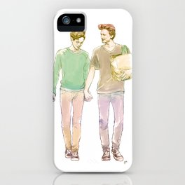 A Walk in the Sun iPhone Case