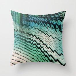 Seismic Change Throw Pillow