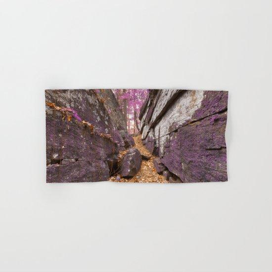 Gettysburg Grotto - Lavender Fantasy Hand & Bath Towel