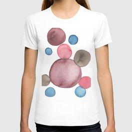 Color Sphere Circle Watercolor T-shirt