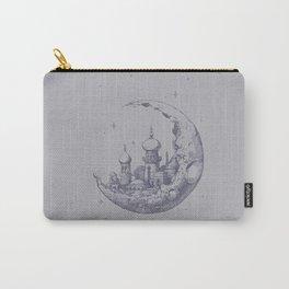 An Arabian Crescent Carry-All Pouch
