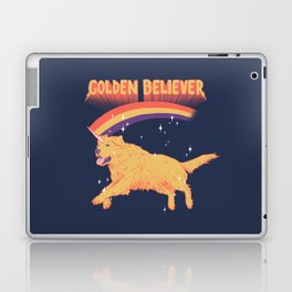 Golden Believer Laptop & iPad Skin