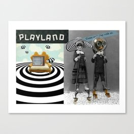 _PLAYLAND Canvas Print