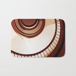 Brown spiral staircase Bath Mat