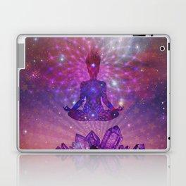 Amethyst Crystal Mountain Laptop & iPad Skin