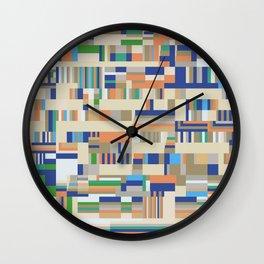 Chromatetude (Soft Colours) Wall Clock