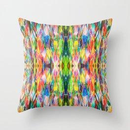 The Peace Kaleidoscope Throw Pillow