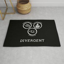 Divergent (White) Rug