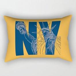 You Love New York Rectangular Pillow