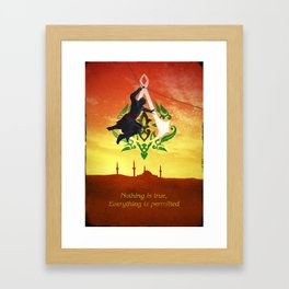 Ezio in Constantinople Framed Art Print