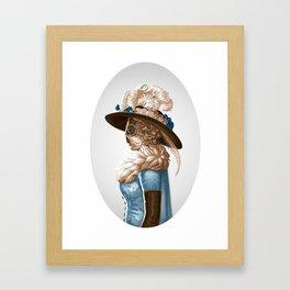 Madam Moth Framed Art Print