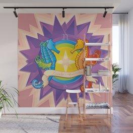 Cavalos Marinhos (Seahorses) Wall Mural