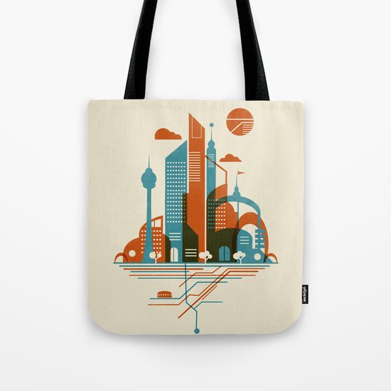 From the Subway to the Sky Tote Bag