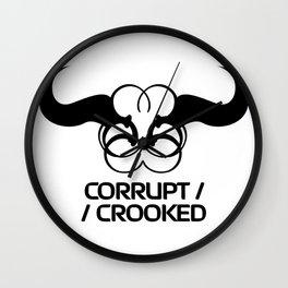 Corrupt/Crooked Wall Clock