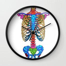 Vertebral Wall Clock