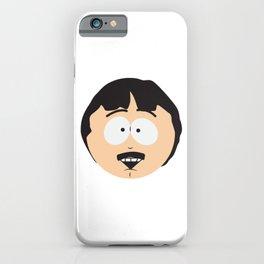 Randy Marsh Happy Face iPhone Case