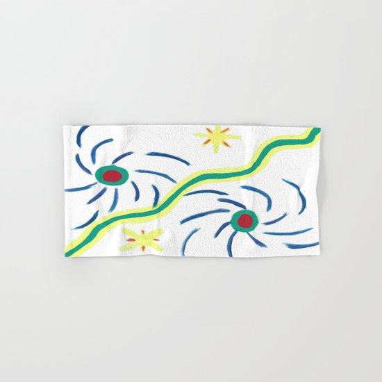 Suns and Hurricanes Hand & Bath Towel