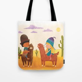 Friends in Mexico Tote Bag