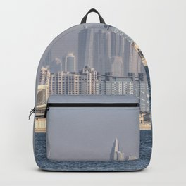 Dubai Yacht And Architecture Backpack