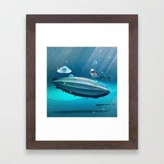 Weird Waters Framed Art Print