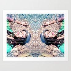 Reflects Art Print