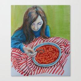 Soup Canvas Print
