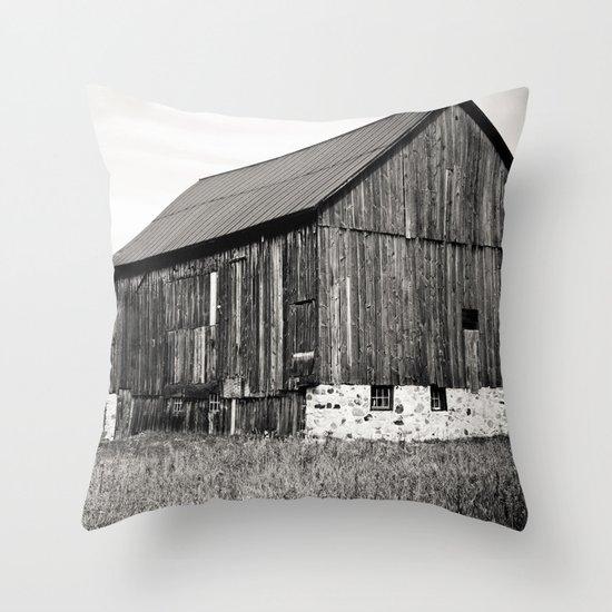 Rustic Rural Throw Pillow