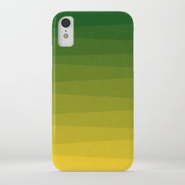 Shades of Grass - Gradient between Lime Green and Bright Yellow iPhone Case