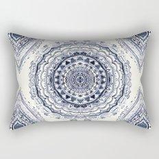 Supernova-In Navy, Dark Blue, & Grey Rectangular Pillow