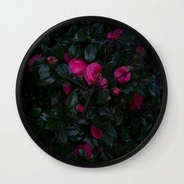 Jeju Flowers Wall Clock