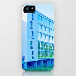 Apartment buildings with outdoor facilities iPhone Case