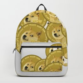 Such coins, so much dogecoins Backpack