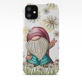 Hippie Gnome iPhone Case