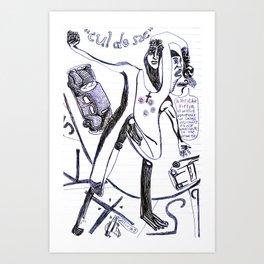 """""""cul de sac"""" Art Print"""
