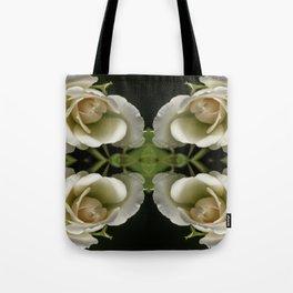 Kaleidoscope Peach Tote Bag