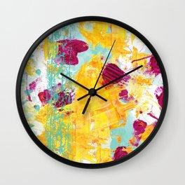 Sunshine of my life Wall Clock