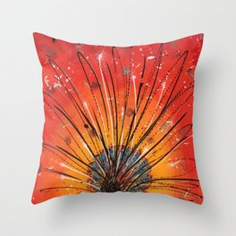 Sacred fire Throw Pillow