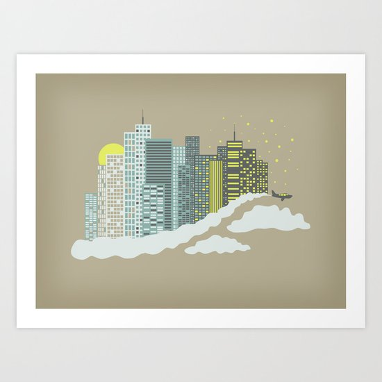 Skyscrapers Art Print