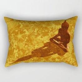 Shadow of the Buddha Rectangular Pillow