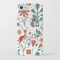 australia iPhone & iPod Cases featuring Australia by Mel Armstrong
