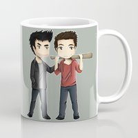 sterek Mugs featuring Sterek by agartaart