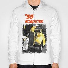 Classic yellow roadster Hoody